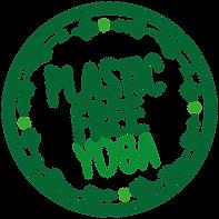 Plastic Free Yoga logo