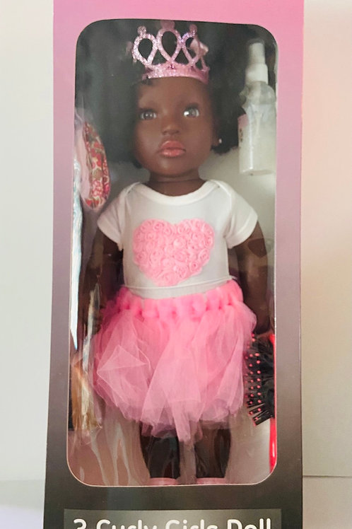 Chanelle Natural Hair Care Doll