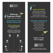 National Engineers Week Rack Card
