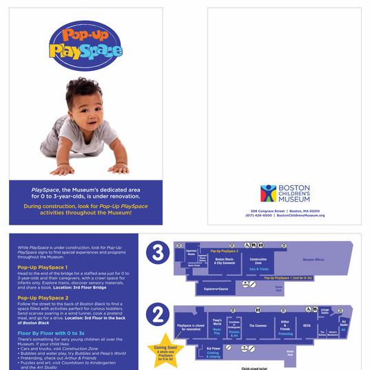 Pop-Up PlaySpace Brochure