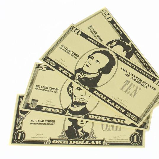 Money Matters Play Money