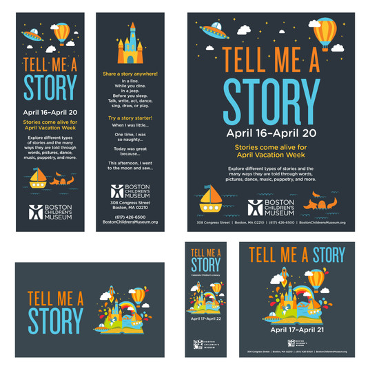 Tell Me A Story Graphics
