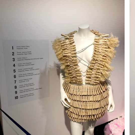 MassArt Fashion Gallery Show