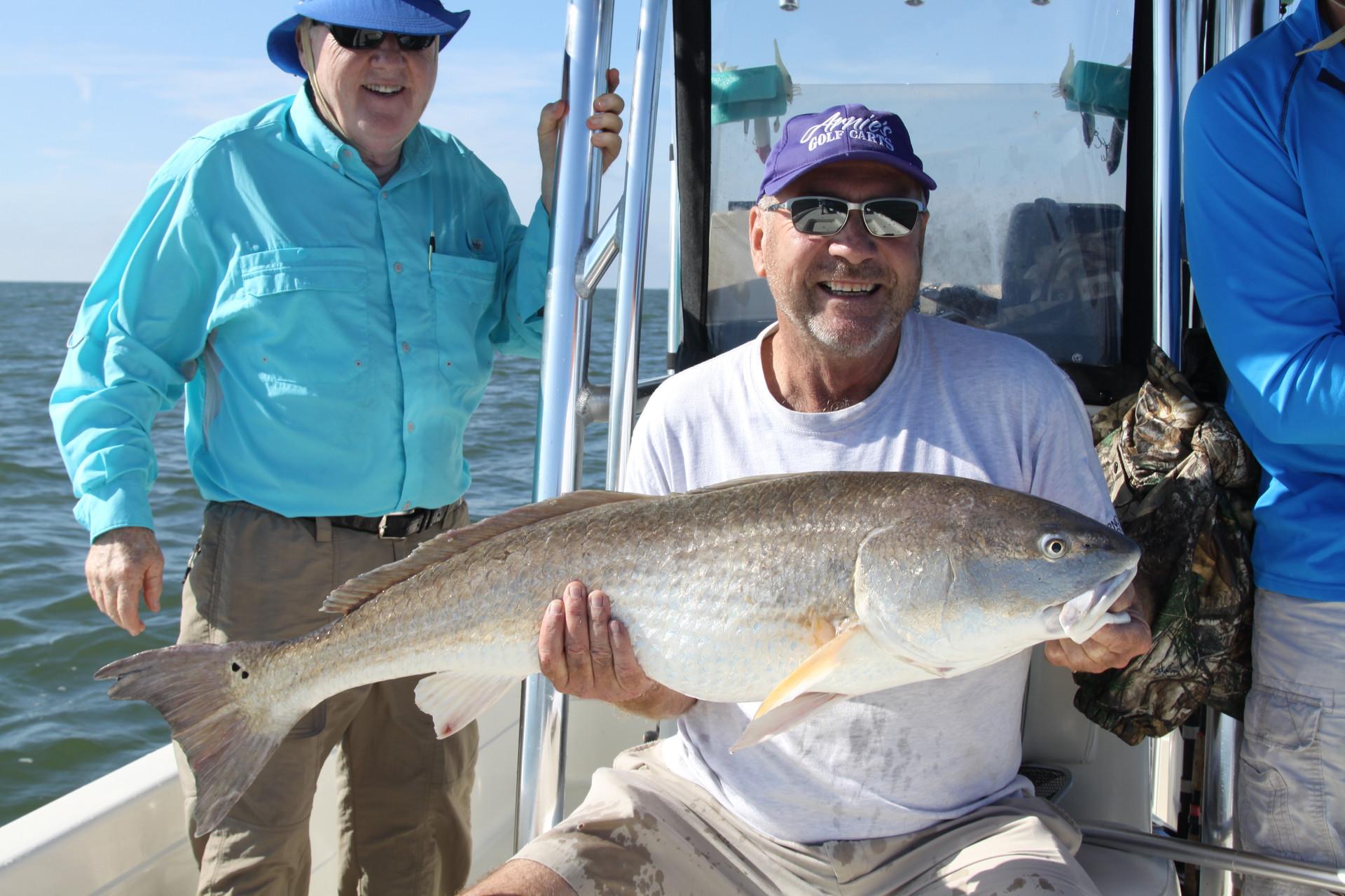 Nearshore Bull Redfish