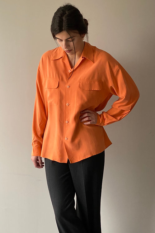 Chemise orange Equipment