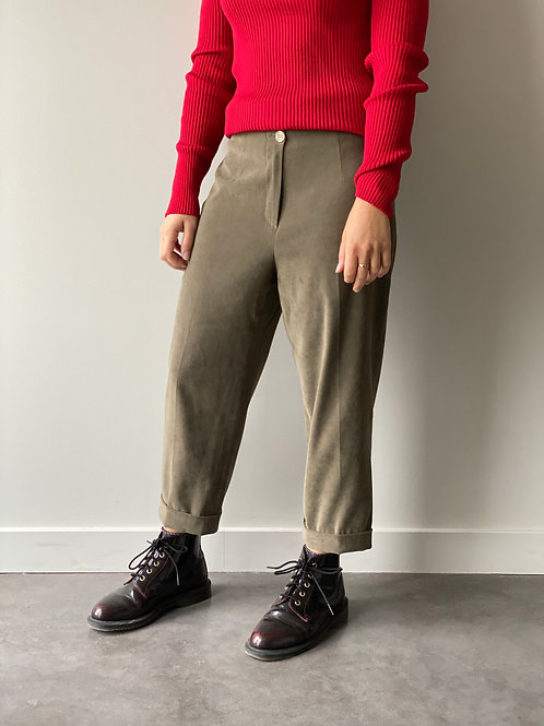Pantalon 7/8 vintage