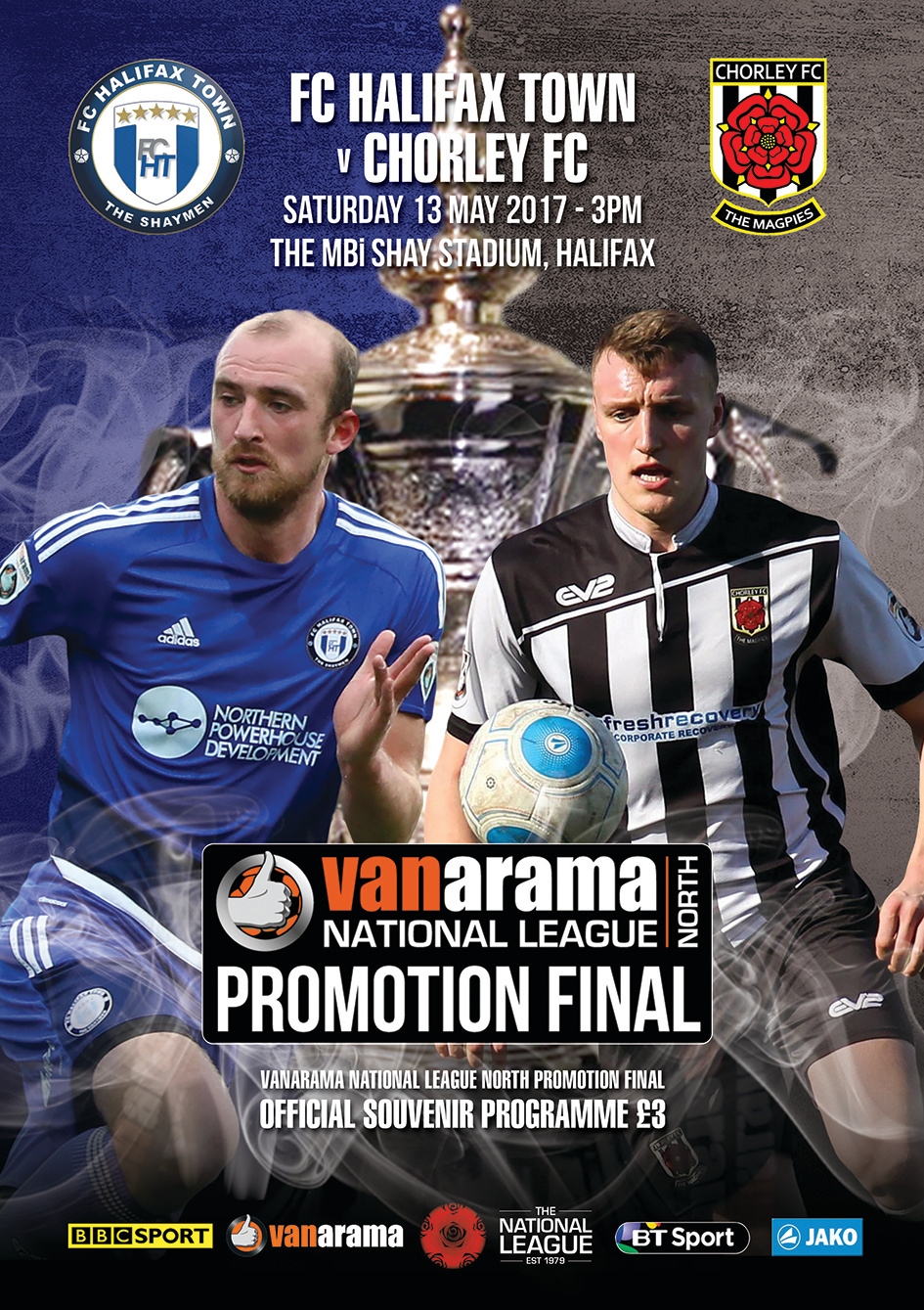 NATIONAL LEAGUE NORTH PROMOTION  FINAL COVER