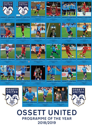 AWARD-WINNING FIRST SEASON FOR OSSETT UNITED