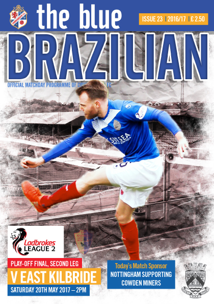 COWDENBEATH v EAST KILBRIDE -   cover1