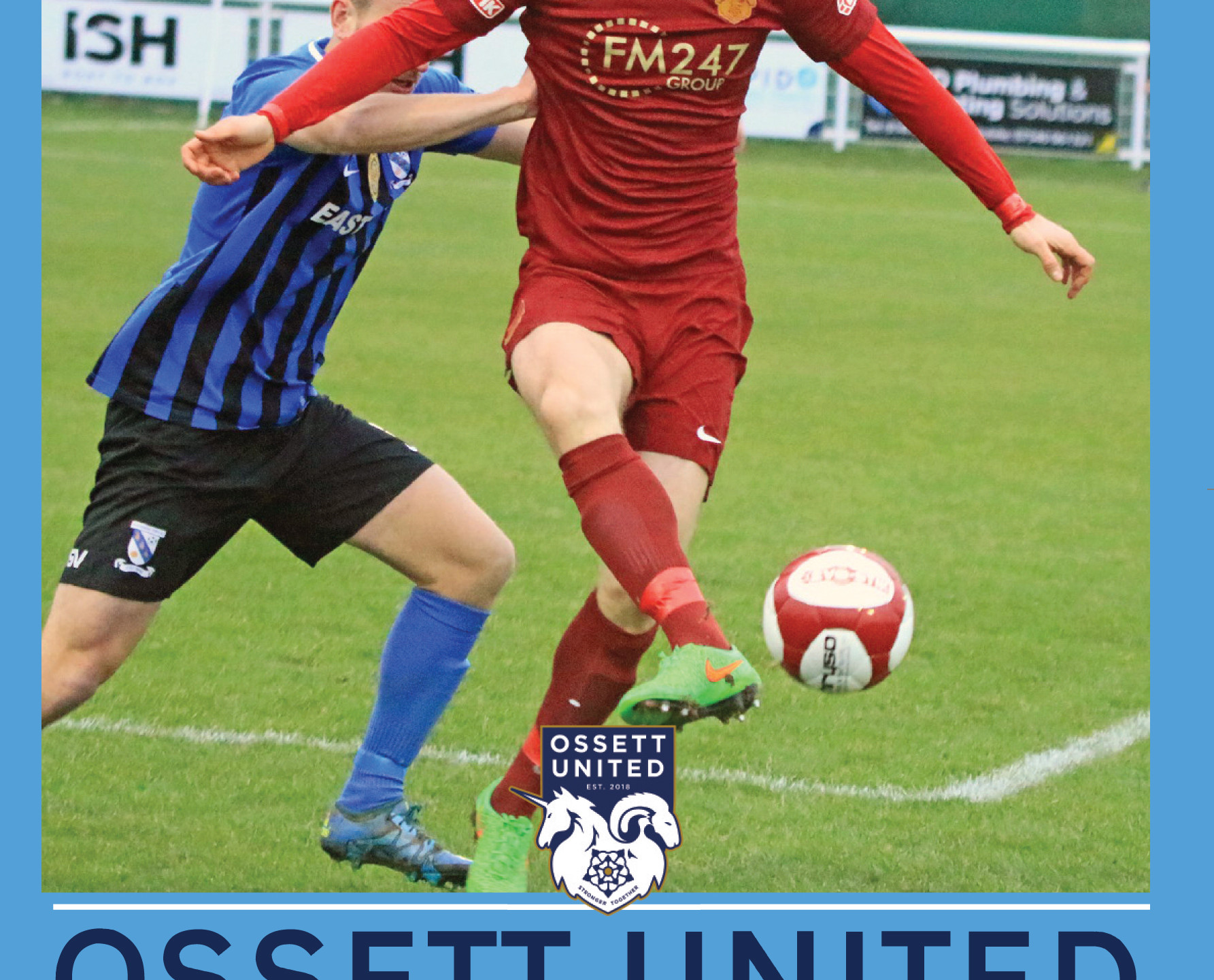 OSSETT Matchday Programm