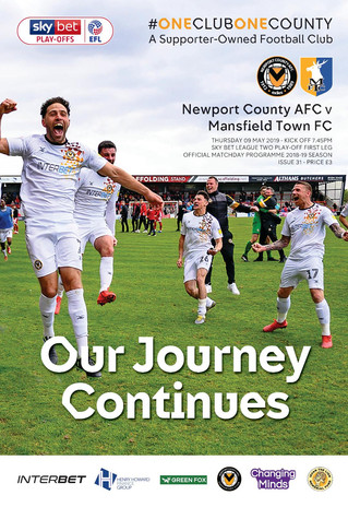 EXCITING SEASON WITH NEWPORT COUNTY