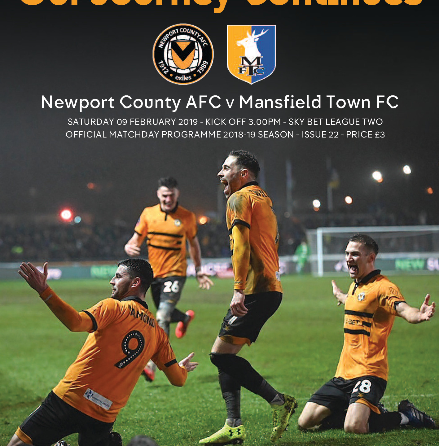 County Matchday Programme