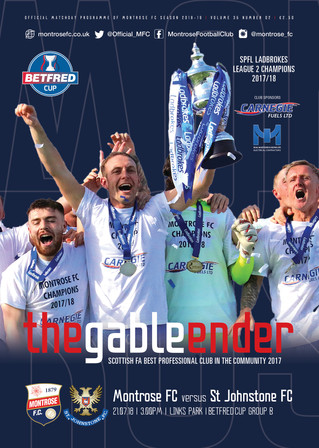 New-look to the Matchday Programmes