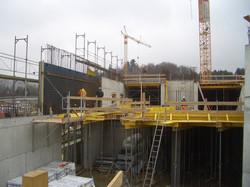 Baustelle WestSIDE Bern