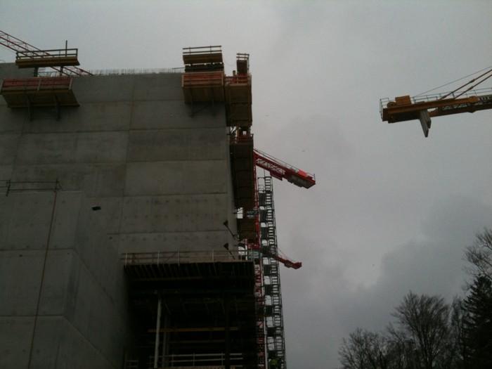 Baustelle KVA Bern