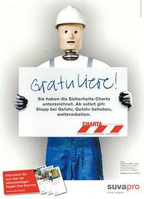 Personalverleih Bau Schweiz SUVA