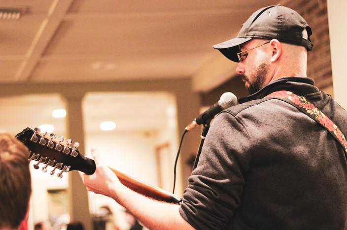 Chris Fritz of Roses from Bones Live in Lakeland