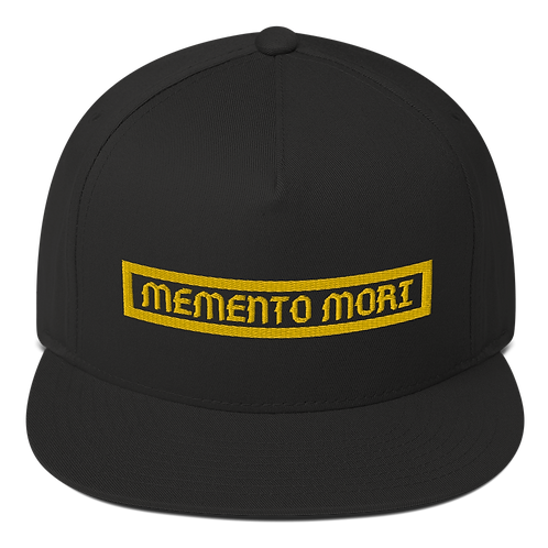 Memento Mori Snapback Black
