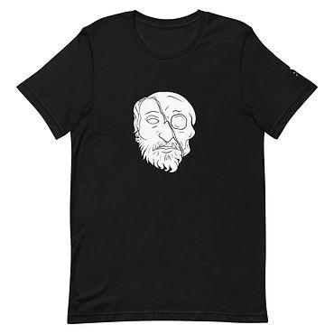 Roses from Bones - Guillotine Black Tee Shirt