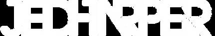 Jed Harper Logo - White w no BG.png