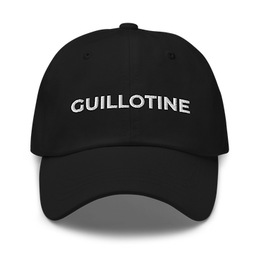 Roses from Bones - Guillotine Black Hat