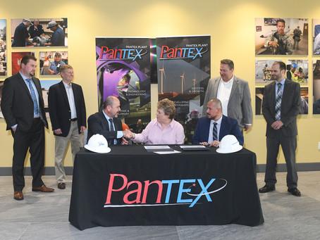 CNS Signs First Mentor-Protégé Agreement at Pantex