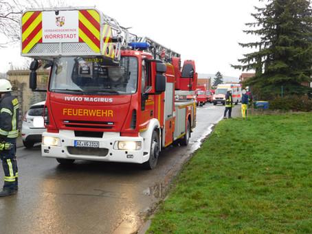 +++ Schornsteinbrand in Udenheim +++