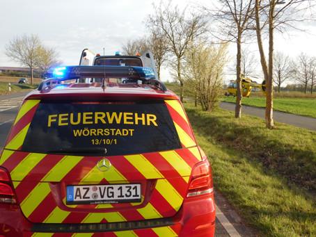 +++ Unfall bei Wörrstadt +++