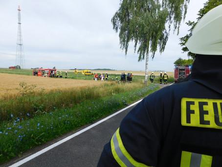 +++ Unfall am Rheinsender +++