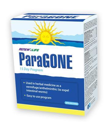 Renew Life® ParaGONE®, 15 Day Anti-Parasite Cleansing Program