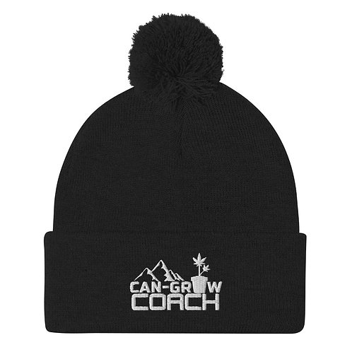 CanGrowCoach Pom-Pom Beanie