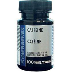 Synergenex Caffeine 200mg, 100 Tablets