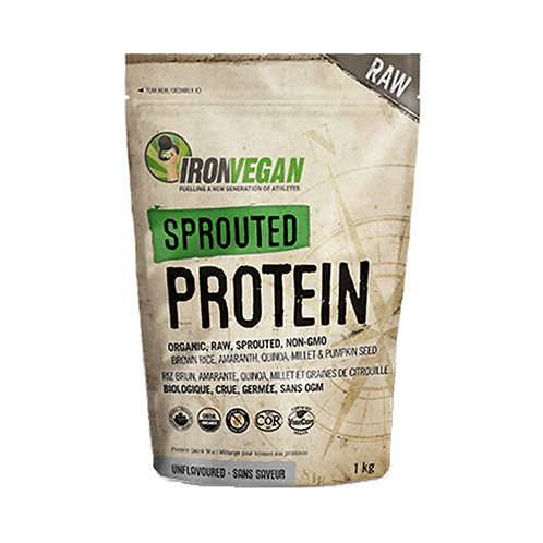 IRON VEGAN SPROUTED PROTEIN (500g)