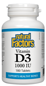 Vitamin D3 1000 IU (360 caps)