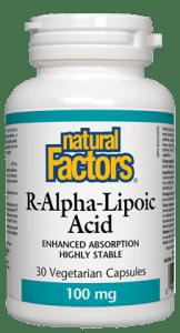 R-Alpha-Lipoic Acid (60x100mg)