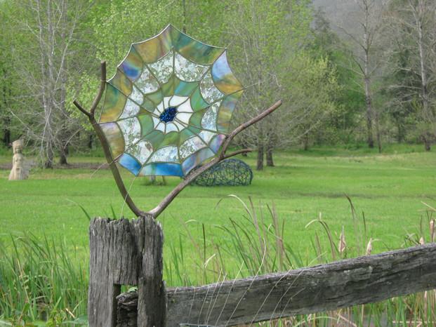 Outdoor Sculpture Interconnected