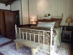 Cattail cabin bedroom