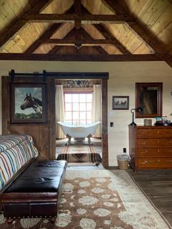 Loft apartment in historic 19th century barn