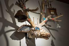 192 wall sculpture by Geoffrey Gorman
