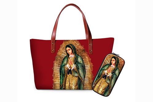 Bolsa de Guadalupe roja