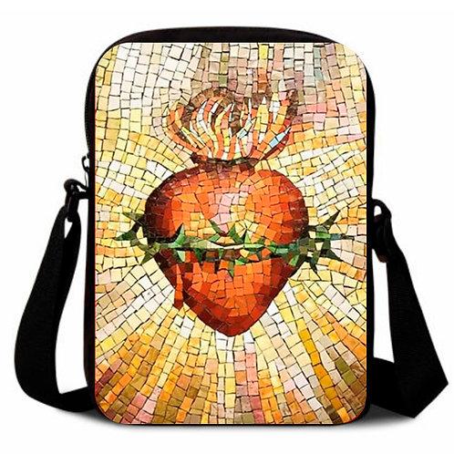 Sagrado Corazon de Jesus Crossbody bag