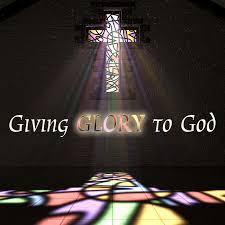 Give God Glory!