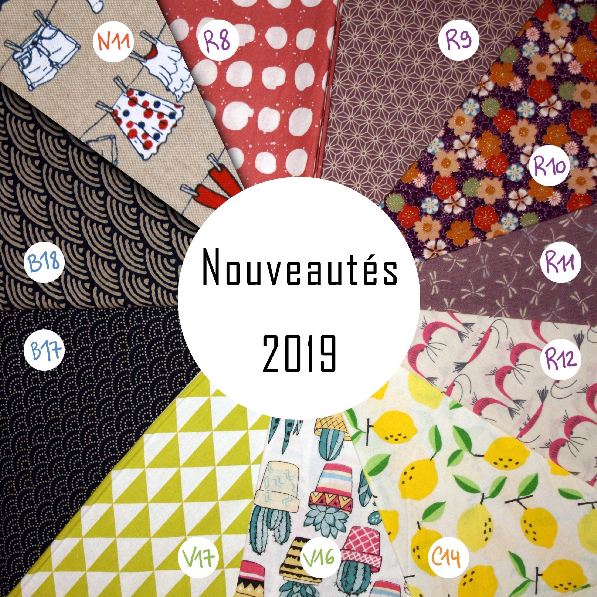 Nouveautés motifs 2019
