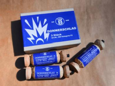Donnerschlag A - 3er-Schachtel