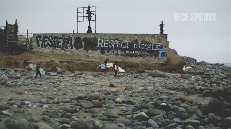 Surfing Peru with Balaram Stack