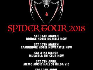 SPIDER TOUR 2018