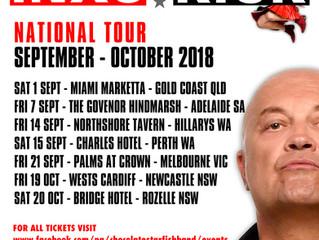 STARFISH ANNOUNCE KICK TOUR