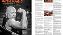 Rock it Out with Magic! An awesome article in today's Territory Q magazine.