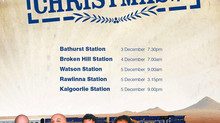 Starfish jump the Indian Pacific Outback XMAS Train!