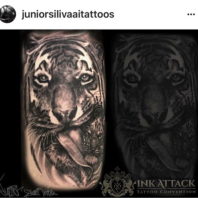Recently back from _inkattacktc on the beautiful Sunshine Coast _juniorsilivaaitattoos had a great t